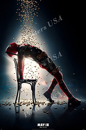 Posters USA Marvel Deadpool 2 Movie Poster GLOSSY FINISH - FIL756 (24