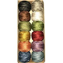 "Valdani Perle Cotton Size 8 Embroidery Thread ""All Through The Night"" Sampler Set"