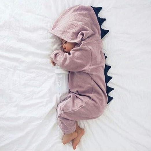 FHYER Ropa de Bebe Onesies Baby Spinning Ropa Linda Dinosaurio ...
