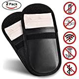 Amazon Price History for:Car Keyless Signal Blocker Case Entry Fob Guard Blocking Pouch Bag Defend WIFI/GSM/LTE/NFC/RF Remotes Control Antitheft Lock Devices Shielding Healthy Cell Phone Credit Card Protection