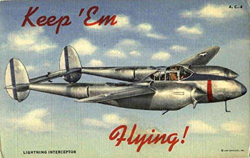 Lightning Interceptor Aircraft Original Vintage ()