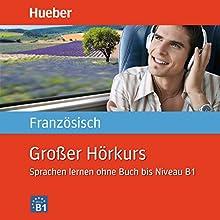 Großer Hörkurs Französisch: Sprachen lernen ohne Buch bis Niveau B1 Hörbuch von Nicole Laudut, Catherine Patte-Möllmann Gesprochen von:  div.