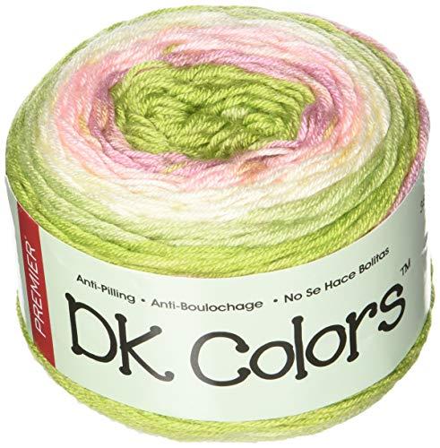 (Premier Yarns 1071-01 Rose Garden Dk Colors Yarn, Multicolor)