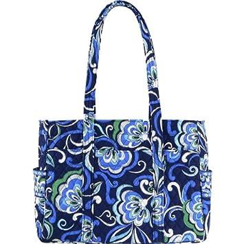 Amazon.com: vera bradley bebé/bolsa de pañales mediterráneo ...