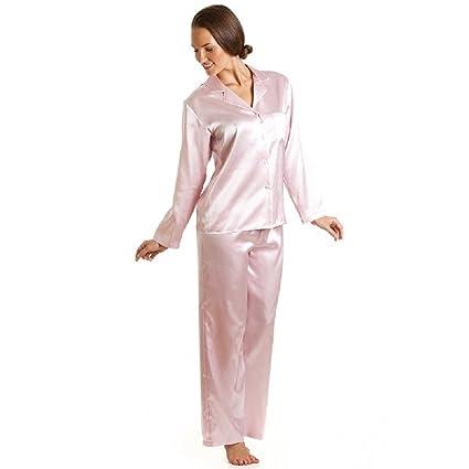 Nueva mujer Plus tamaño 2 piezas bebé Color rosa pijama lencería ropa interior pijamas tamaño UK