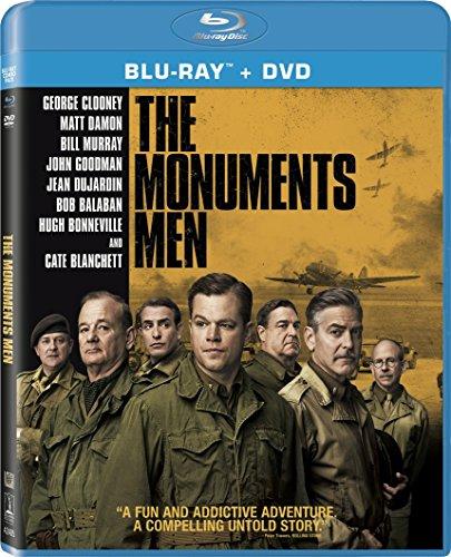 The Monuments Men (Blu-Ray +DVD +Digital HD)