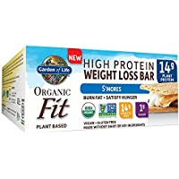Garden Of Life 12-Pack of .9 Oz High Protein Weight Loss Bar, S'Mores