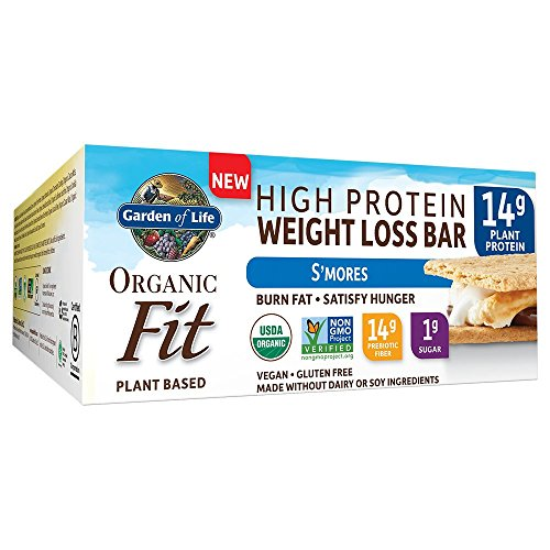 Garden of Life Organic Fit Bar, S'mores, 12 Count - Bar Smores
