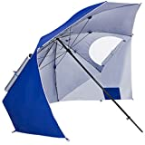 Best Choice Products Beach Portable Sun Umbrella Shelter Park Canopy Tent W/ Ground Nails, Ropes & Carrying Case Review