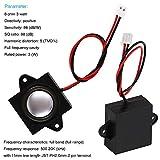 MakerHawk 2pcs Arduino Speaker 3 Watt 8 Ohm