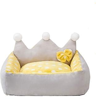 Amazon.com: Gaobey - Sofá cama con diseño de corona de gatos ...