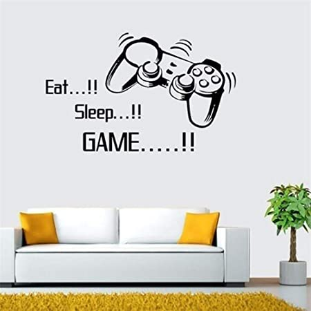 Choose Your Weapon Video Gamer Vinyl Wall Decals Wall Sticker for Boys Bedroom Game Room Wall Mural Children Gift Living Room Kidroom Walls Home Decoration