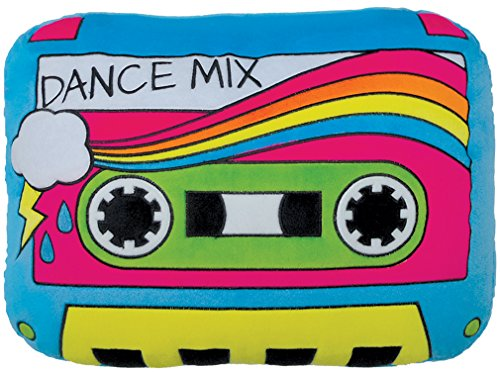 iscream Old School! Cassette Mix Tape Shaped Fleece 16