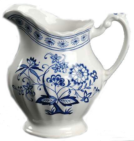 - Johnson Bros/Meakin - Blue Nordic - Creamer