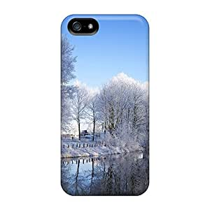 For Iphone 5/5s Premium Cases Covers Winter Protective Cases