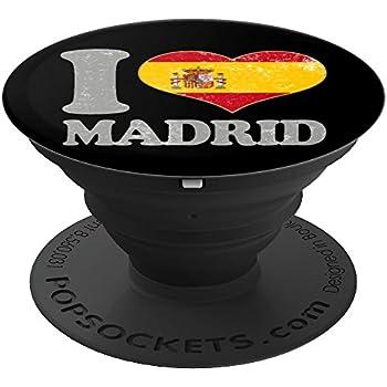 Amazon.com: Bandera Española I Love Madrid España Souvenir ...