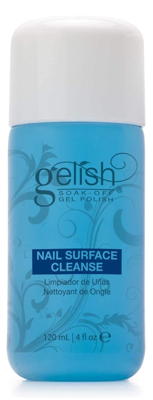 NEW Gelish Soak Off Gel Nail Polish Remover & Cleanser Bottles 120mL (4 fl oz) by Gelish