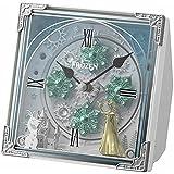 アナと雪の女王 置き時計 4RH784MA03 ホワイト