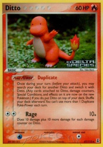 Pokemon - Ditto (37) - EX Delta Species