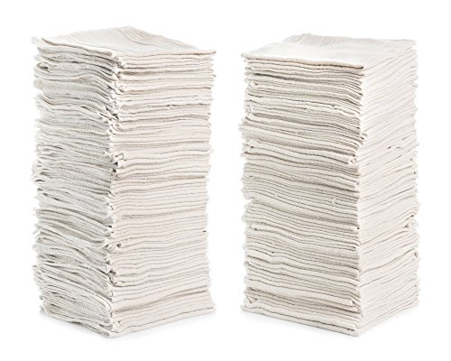 "Simpli-Magic 79100 White 14""x12"", 50 Pack Shop Towels from Simpli-Magic"
