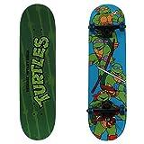 PlayWheels Teenage Mutant Ninja Turtles 28'  Skateboard, Turtle Time