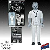 The Doctor can see you now. 3 3/4-inch scale retro-styled action figure derived from The Twilight Zone. Based on the episode 'Eye of the Beholder.' Limited Edition and individually numbered black-and-white version with five points of articula...