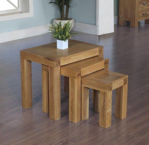 Plaza Eiche rustikal Möbel Nest von 3Tisch