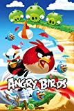 Angry Birds - Gaming Poster (Attack) (Size: 24 x 36) Poster Print, 22x34
