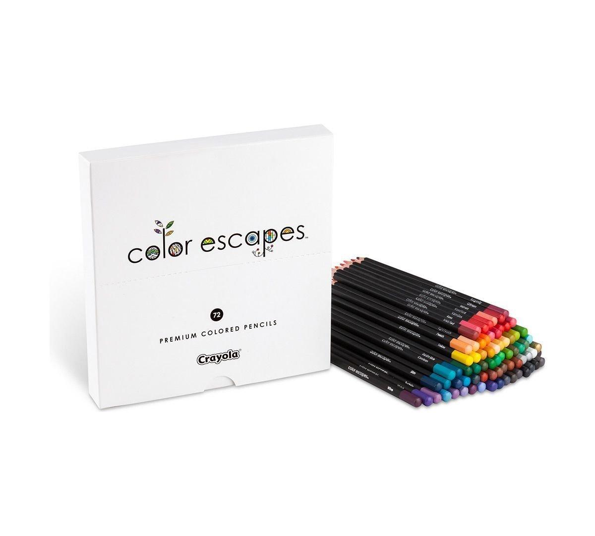 Crayola Color Escapes Colored Pencils, 72 Count, Adult Coloring, Gift by Crayola