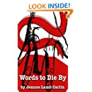 Words To Die By (Allison Taylor series Book 2)
