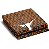 University of Texas at Austin PS4 Horizontal (Console Only) Skin - Texas Longhorns Orange Checkered Vinyl Decal Skin For Your PS4 Horizontal (Console Only)