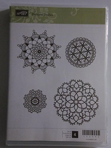 Stampin up delicate doilies