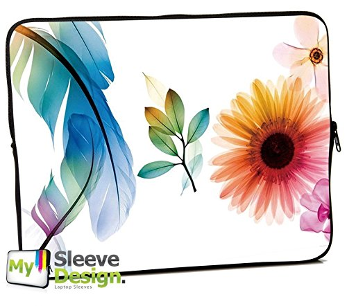 MySleeveDesign Netbook Sleeve 10,2' Laptop Case Neoprene Notebook Bag up to 10,2 (10.2' Netbook Sleeve Case)