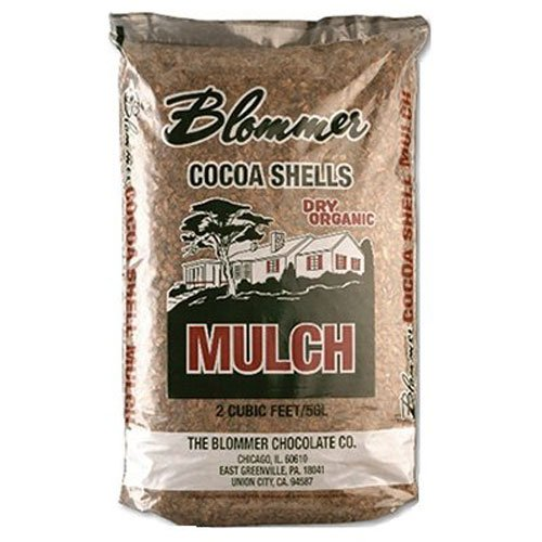 - National Cocoa Shell BLCH001 Blommer Cocoa Shell Mulch, 2 Cubic Feet