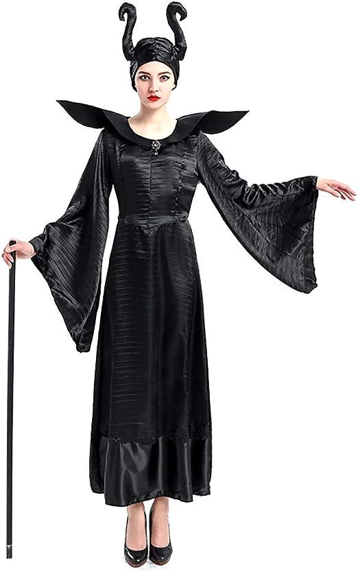 GAOJUAN Disfraz De Bruja Maldita Cosplay Disfrazada De Halloween ...