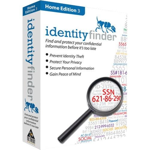 Identity Finder Home Edition - Card Credit Synergy