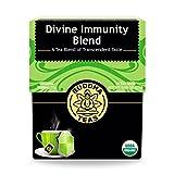 Organic Divine Immunity Blend Tea – Kosher, Caffeine Free, GMO-Free – 18 Bleach Free Tea Bags For Sale