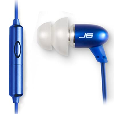 JLab Audio JBuds J6M High Fidelity Metal Ergonomic Earbuds
