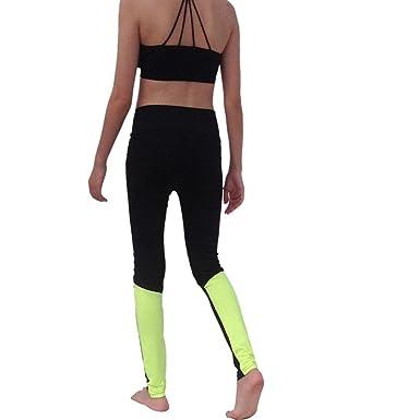 Pantalones Deportivos Para Mujeres Leggings De Para Gimnasia Yoga ...