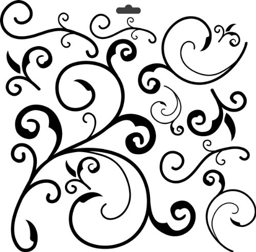 (CRAFTERS WORKSHOP 373196 Template, 12 by 12-Inch, Capricious)