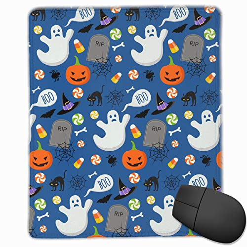 Mouse Pad Happy Halloween Funny Pattern Personalized Mouse Pad Non-Slip Mouse Mat Gaming Mouse Pad -