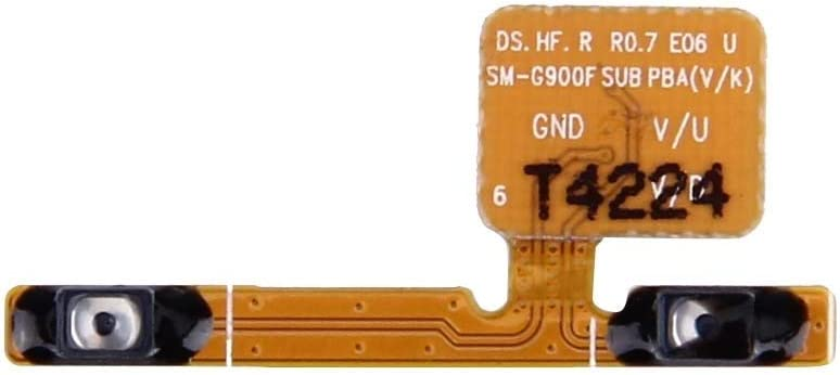 CHENYOUWEN Replacement Parts Professional Volume Button Flex Cable Replacement for Galaxy S5 / G900