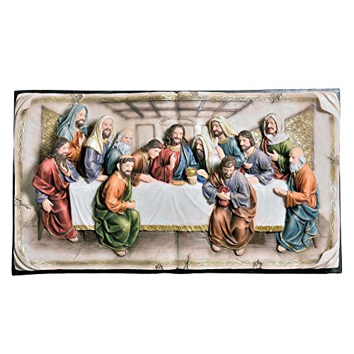 (ORE International K-2534-P5 Last Supper Wall Hanging, 20-Inch)