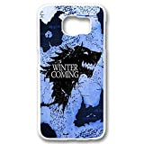 game of thrones winter is coming for samsung galaxy s6 edge white case