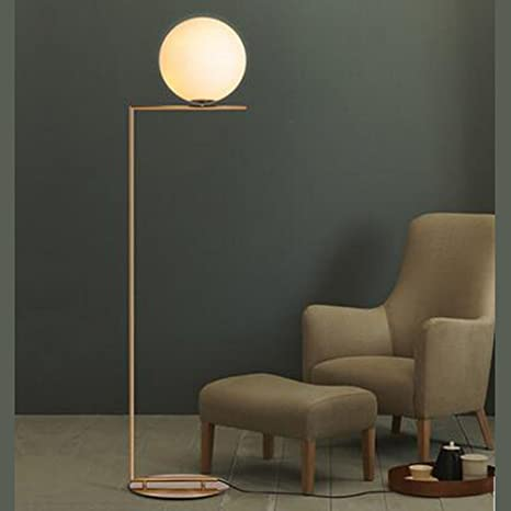 Modern Simple Glass Ball Stand Lamp Floor Lamp Nordic ...