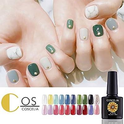 Amazon Com Coscelia Gel Nail Polish Set 20 Colors Soak Off Gel