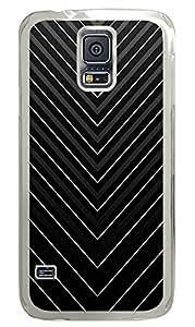 Samsung Galaxy S5 Patterns Stripes 2 PC Custom Samsung Galaxy S5 Case Cover Transparent