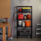 Amazon Basics 5-Shelf Shelving Storage Unit on