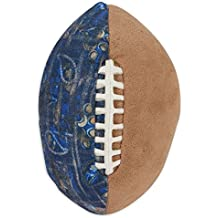 MuttNation Fueled by Miranda Lambert Patchwork Football Dog Toy
