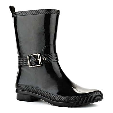 Amazon.com | Cougar Woman's Rage Rain Boot | Mid-Calf